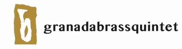 logotipo Granada Brass Quintet del CD Granada Brass Suite