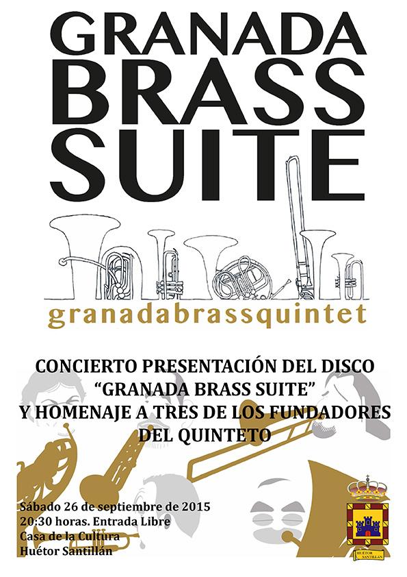 Concierto GB Suite, Cartel Huétor Santillan